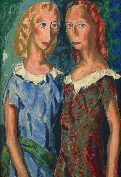 Alfred Henry Maurer Two Girls