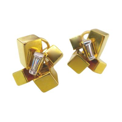 Alfred Karram Alfred Karram Modernist Earrings 1970s