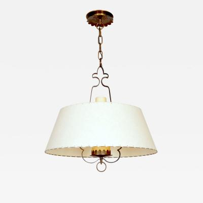 Alfred Muller Alfred Muller Ceiling Lamp Switzerland 1940s