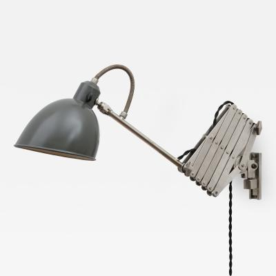 Alfred Muller Industrial Chic Accordion Lamp by Alfred Muller