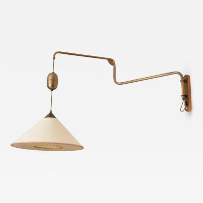 Alfred Muller Suspension Wall Lamp by alfred Muller for AMBA Switzerland