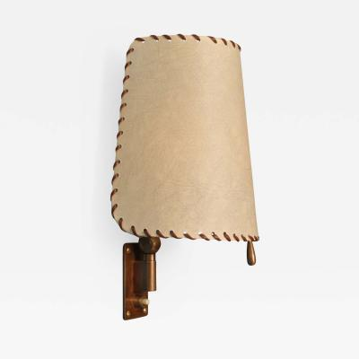Alfred Muller Swing Arm Wall Lamps by Alfred Muller Basel Switzerland 1940s
