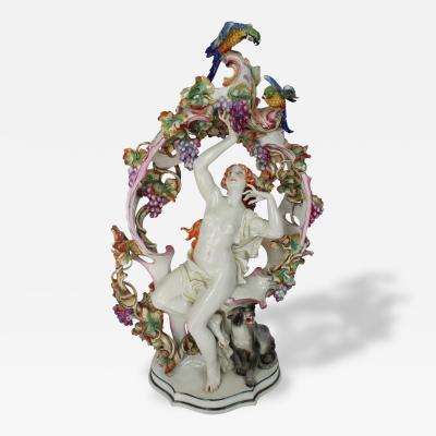 Alfred Oppel An Extraordinary Large Porcelain Figural Work