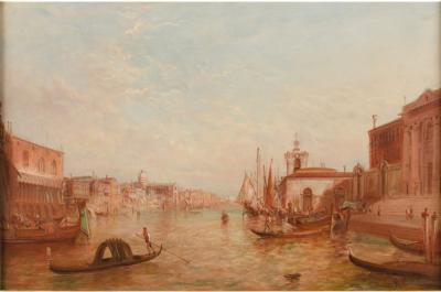 Alfred Pollentine Alfred Pollentine BRITISH 1836 1890 Venice in Spring painting