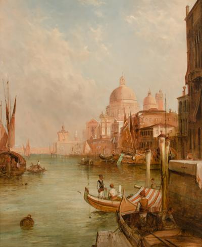 Alfred Pollentine Alfred Pollentine British 1836 1890 S Maria Della Salute Venice