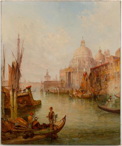 Alfred Pollentine Alfred Pollentine British 1836 1890 Venice in July