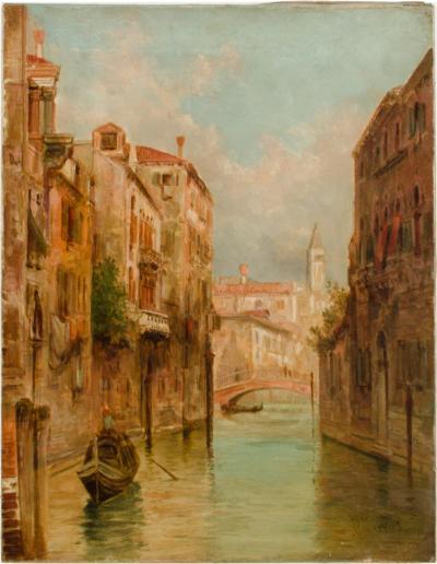 Alfred Pollentine Alfred Pollentine British 1836 1890 Venice in June