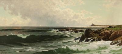 Alfred Thompson Bricher Along the Coast of Maine ca 1880