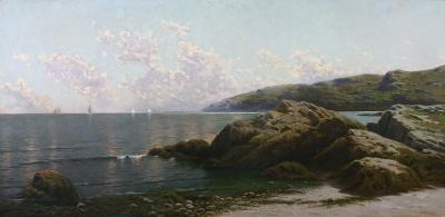 Alfred Thompson Bricher Coastal Landscape