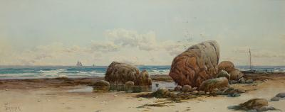 Alfred Thompson Bricher Low Tide