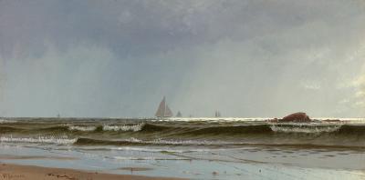 Alfred Thompson Bricher Narragansett Bay View