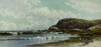 Alfred Thompson Bricher Near York Beach Maine