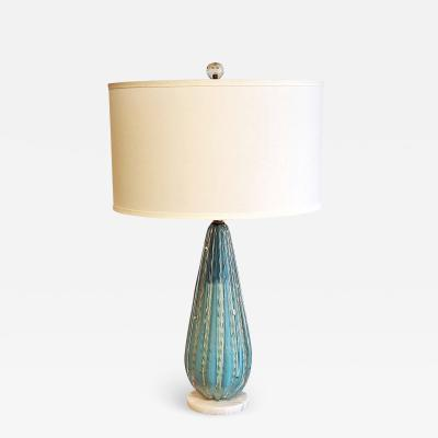 Alfredo Barbini ALFREDO BARBINI MURANO GLASS TABLE LAMP