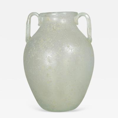 Alfredo Barbini Signed Barbini Urn Form Murano Vase Circa 1970s
