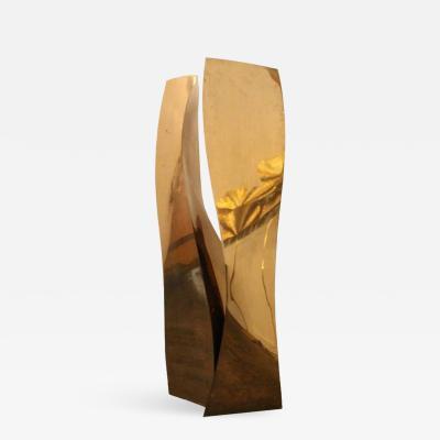 Ali Baudoin Tall Monumental Bronze Sculpture Entitled Mountain Tango by Ali Baudoin