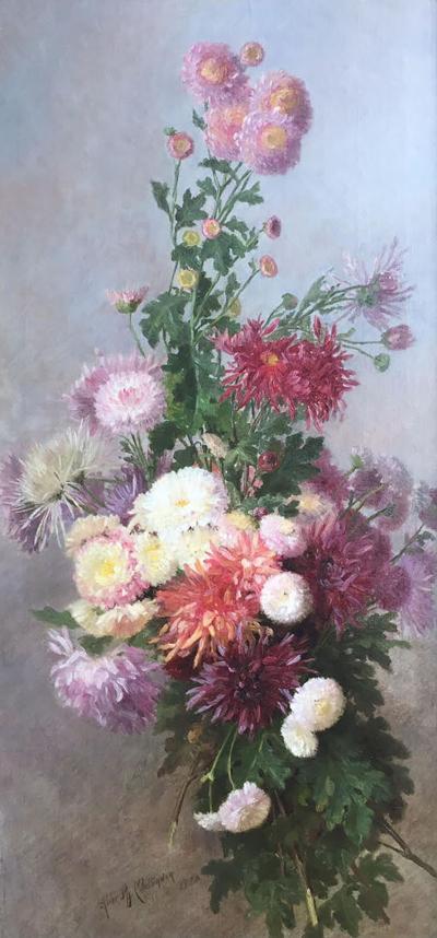 Alice Brown Chittenden Chrysanthemums
