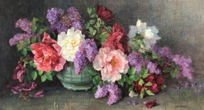 Alice Brown Chittenden Still Life with Flowers
