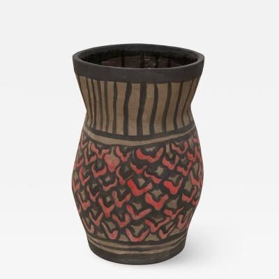 Alice Gavalet Brown Vase