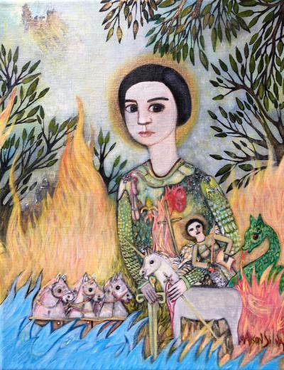 Alison Silva Through the Flames