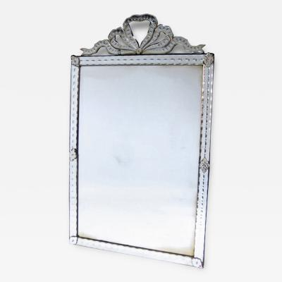 All Glass Mirror France ca 1900