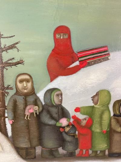 Alla Victorovna Kraschina RUSSIAN PAINTING THE OLD NEW YEAR