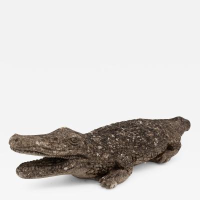 Alligator Garden Ornament