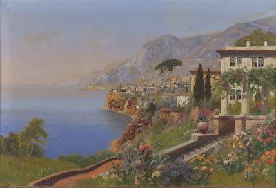 Alois Arnegger Italian Villa on the Amalfi Coast