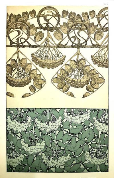 Alphonse Maria Mucha Alfons Mucha Original Lithograph Plants 1902