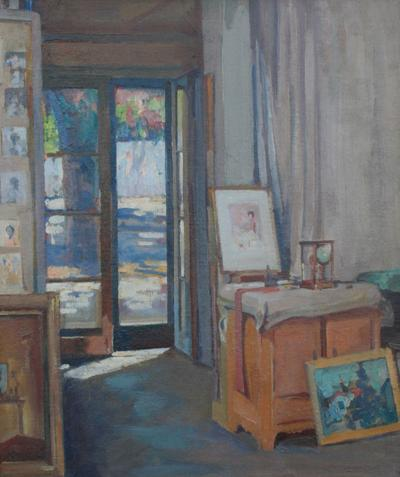 Alson Skinner Clark Studio Interior Pasadena