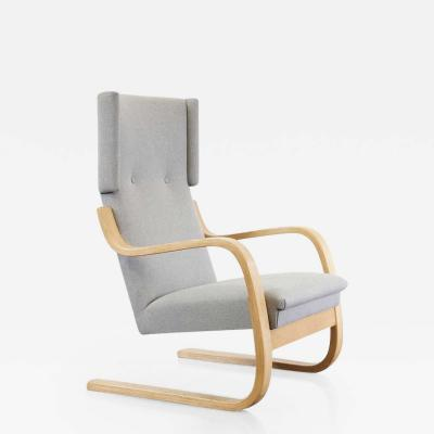Alvar Aalto 1950s Alvar Aalto Wingback Lounge Chair