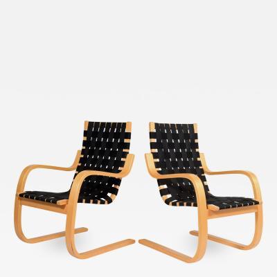 Alvar Aalto Alvar Aalto 406 lounge chairs for Artek