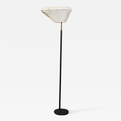 Alvar Aalto Alvar Aalto Angel Wing MidCentury Floor Lamp Model A805 1954s