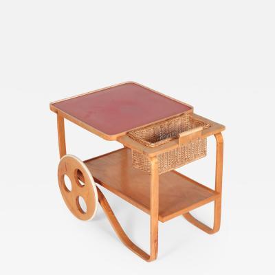 Alvar Aalto Alvar Aalto Bar Cart Wohnbedarf 30 s
