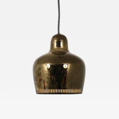 Alvar Aalto Alvar Aalto Golden Bell Hanging Lamp for Artek Finland 1950