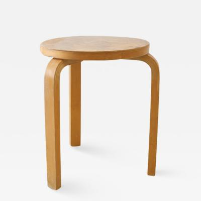 Alvar Aalto Alvar Aalto Stool 60 in Natural Wood