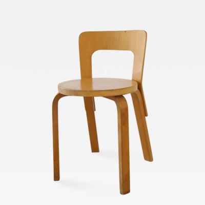 Alvar Aalto Alvar Aalto for Artek Birchwood Chair 65