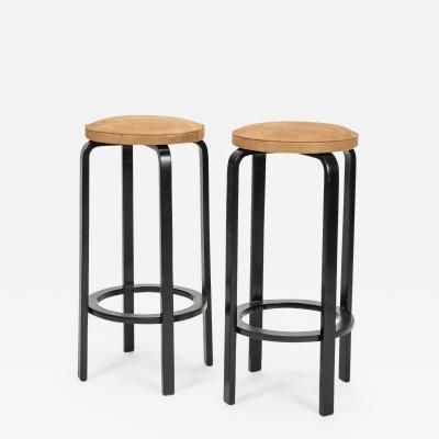Alvar Aalto Alvar Aalto two bar chairs Artek Model 64 40s