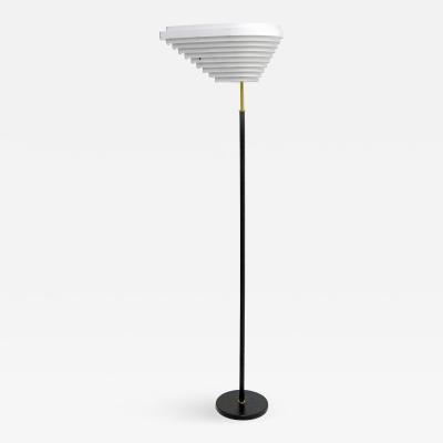 Alvar Aalto Floor Lamp Model A805 Angel Wing by Alvar Aalto