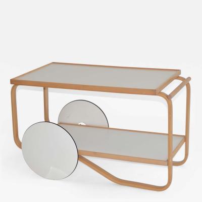 Alvar Aalto Tea or Bar Cart Trolley 901 by Alvar Aalto Finland