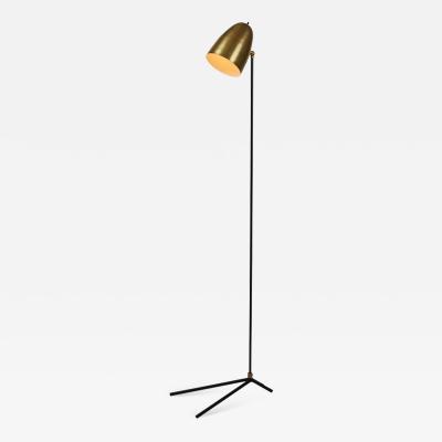 Alvaro Benitez ORO Brass and Metal Floor Lamp