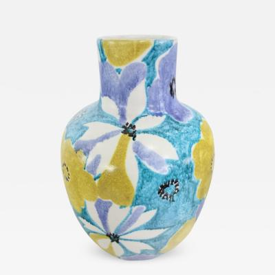 Alvino Bagni Ceramic Vase by Alvino Bagni Raymor