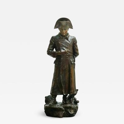 Am d e Charron Napoleon Bronze Sculpture Am d e Charron
