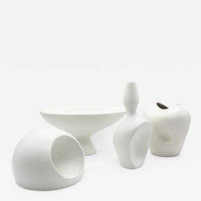 Ambrogio Pozzi Collection of Vasiforma and Vasi Antropomorfi Organic Vases 1950s