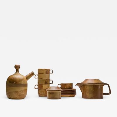 Ambrogio Pozzi Compact Tea Set by Ambrogio Pozzi