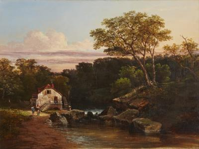 Ambrose Andrews Old Mill in New England