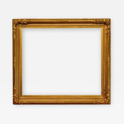 American 1865 Gilded Scoop Picture Frame 28x34