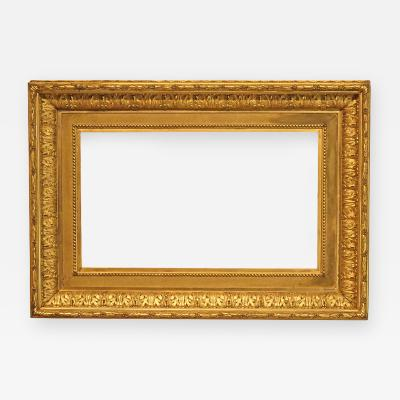 American 1880 Gilded Designed Cove Picture Frame 14x24