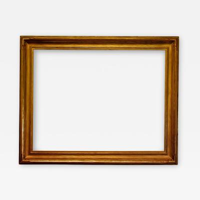 American 1915 Arts And Crafts Metal Leaf Picture Frame