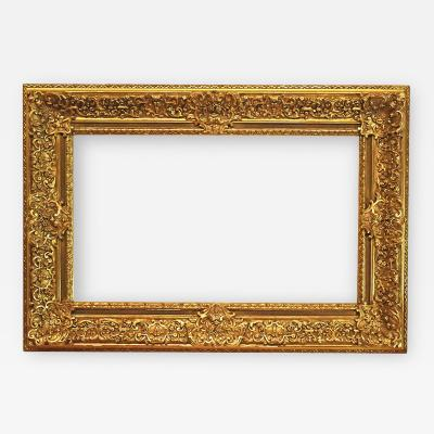 American 20th Century Gilded Regence Picture Frame 23x39