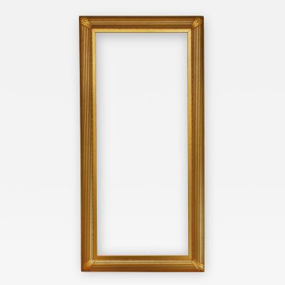 American 20th Century Metal Leaf Whistler Picture Frame 30x75 SKU 158